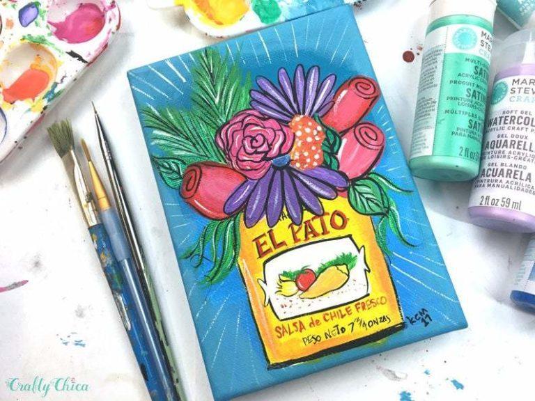 El Pato art print #craftychica