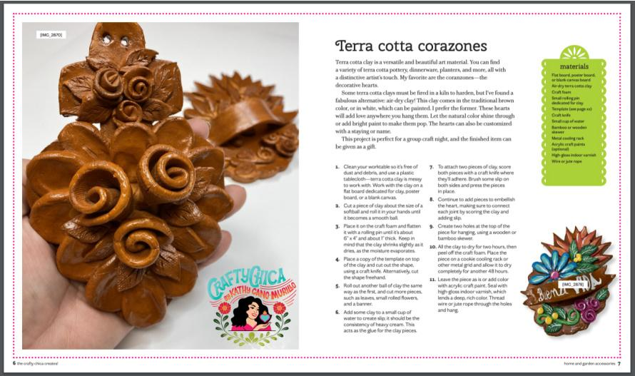 Clay corazon by Crafty Chica