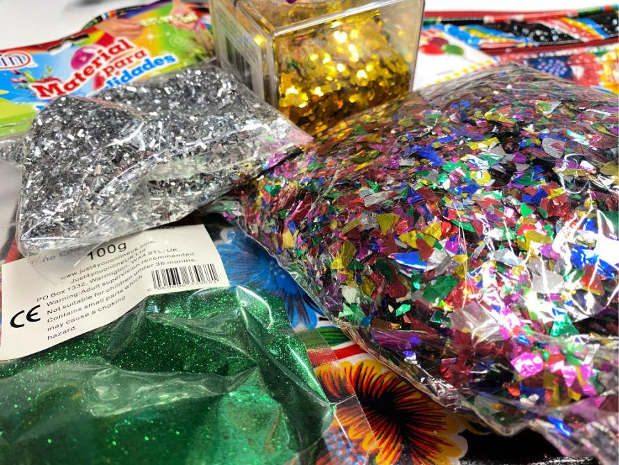 Assorted glitters! #craftychica #resincrafts #glittercrafts