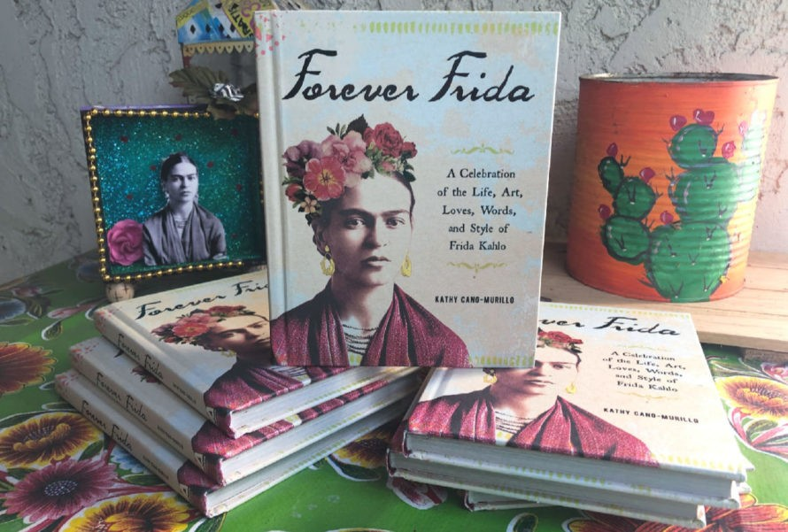 Forever Frida, a new book by Kathy Cano-Murillo. #craftychica #fridakahlo