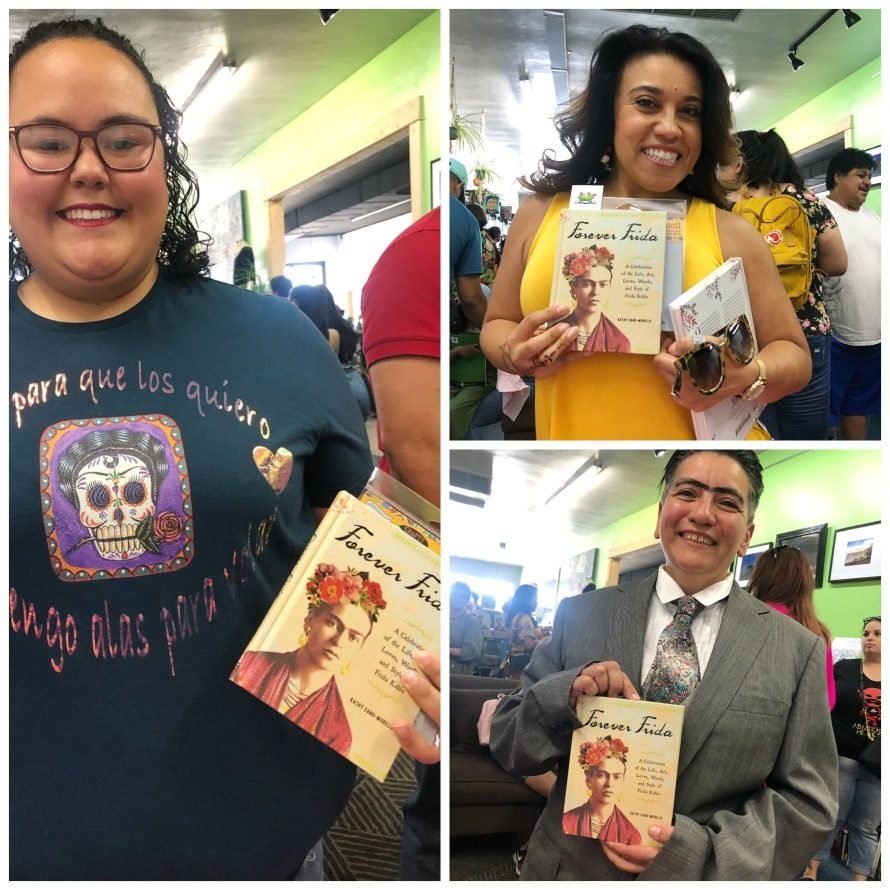 Forever Frida book signing by Kathy Cano-Murillo.