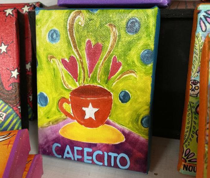 Cafecito print #craftychica #cafecito