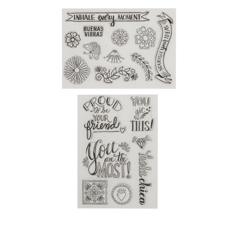 Crafty Chica stamps for HSN