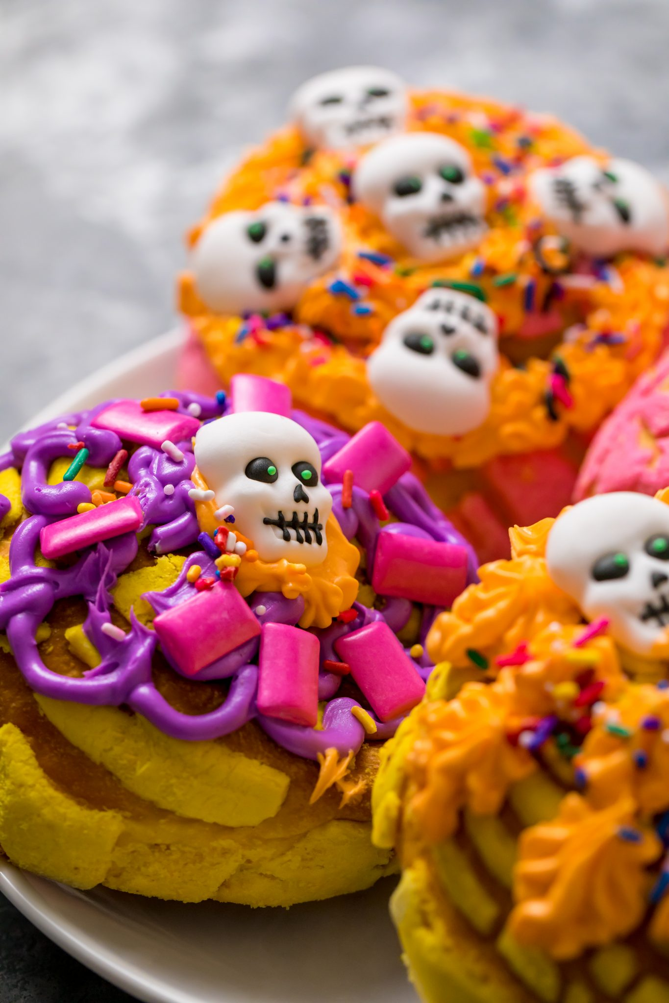 Day of the Dead conchas!