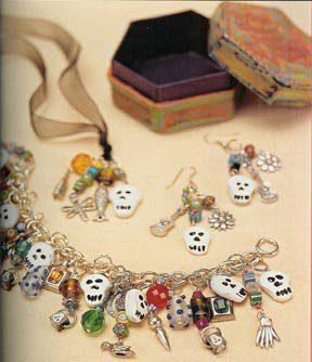 muertos charm bracelet