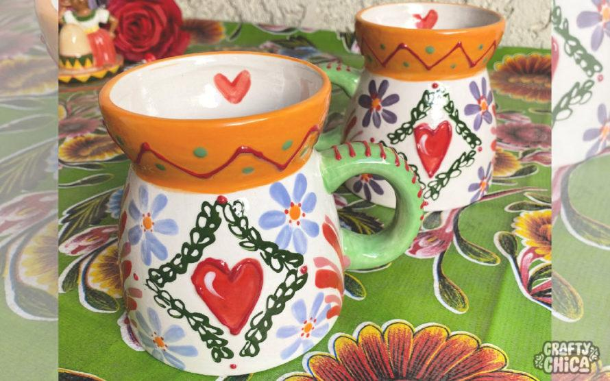 de colores mug #craftychica #pyop #paintedmug