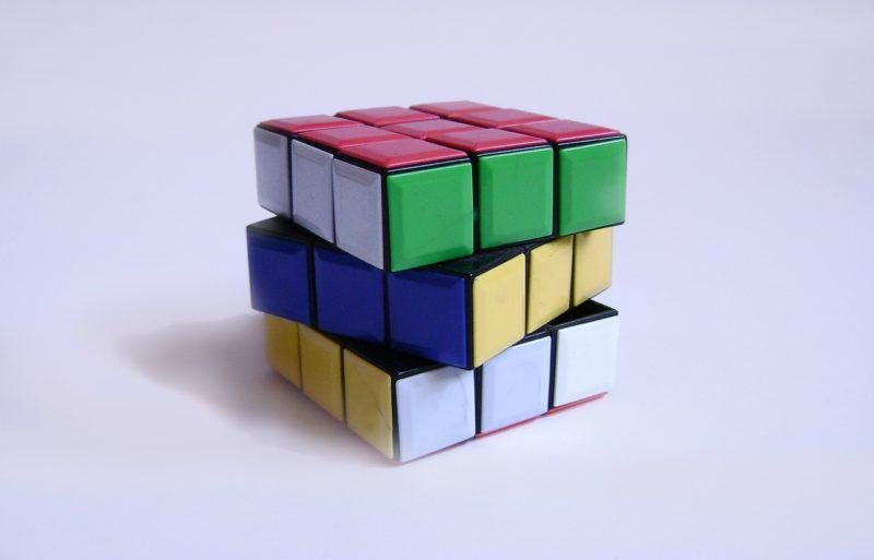Rubiks cube family pictures on craftychica.com