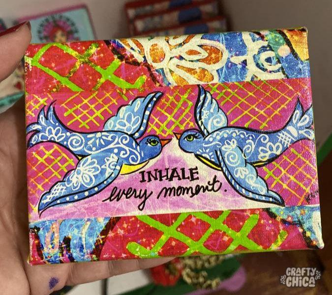 Inhale every moment by Kathy Cano-Murillo #craftychica