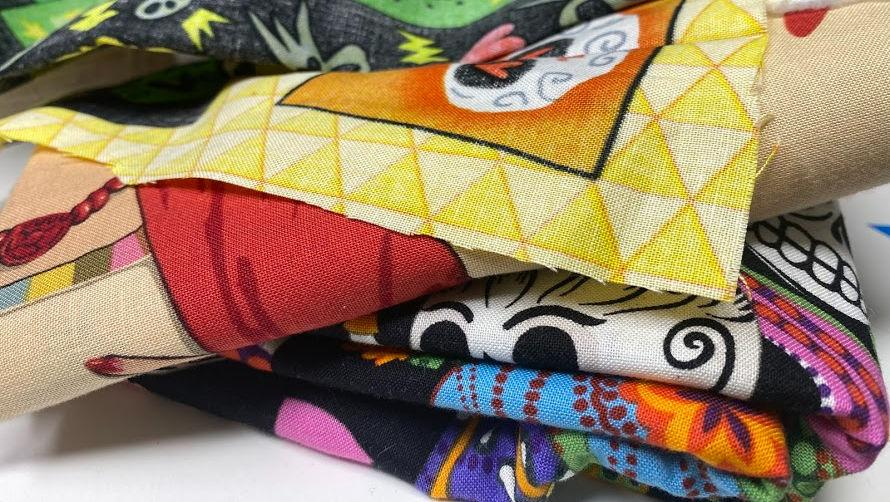 fabric stack.