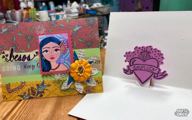 How to make pop up cards #craftychica #popupcard #cardmakingideas