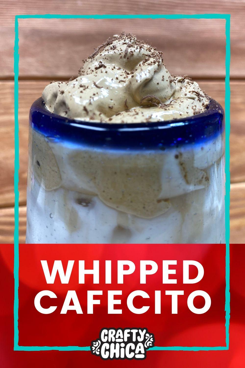Whipped Coffee Latin Style #craftychica #dalgonacoffee #whippedcoffee