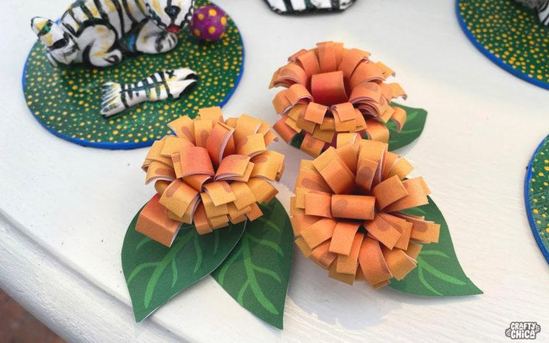 Free printable - marigold flowers #craftychica #marigolds