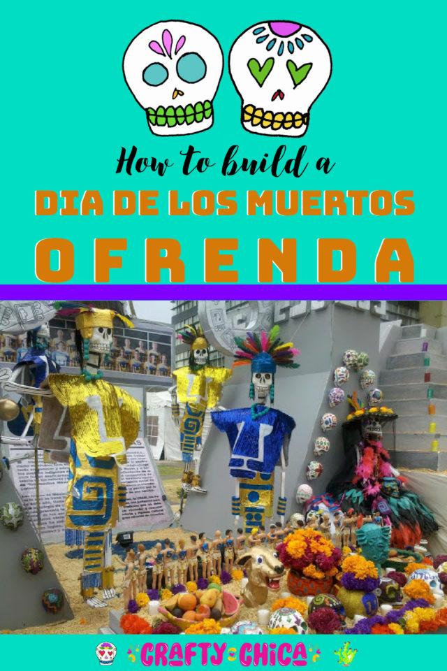 How to build a day of the dead ofrenda