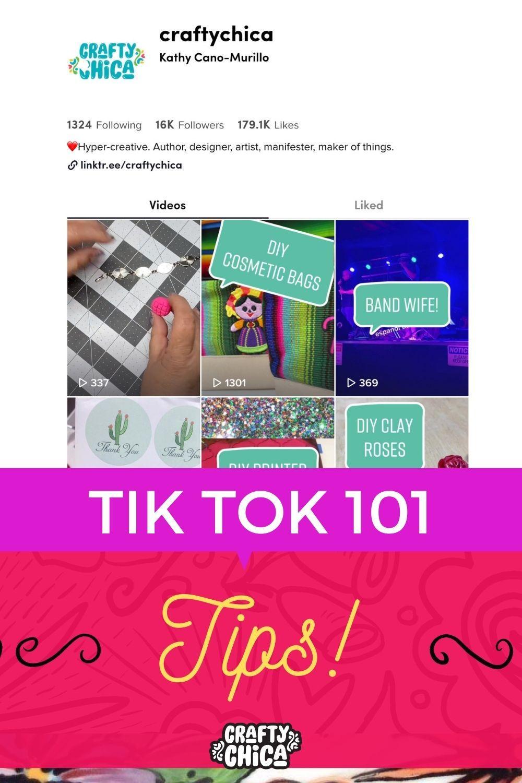 Crafty Chica tikTok tips