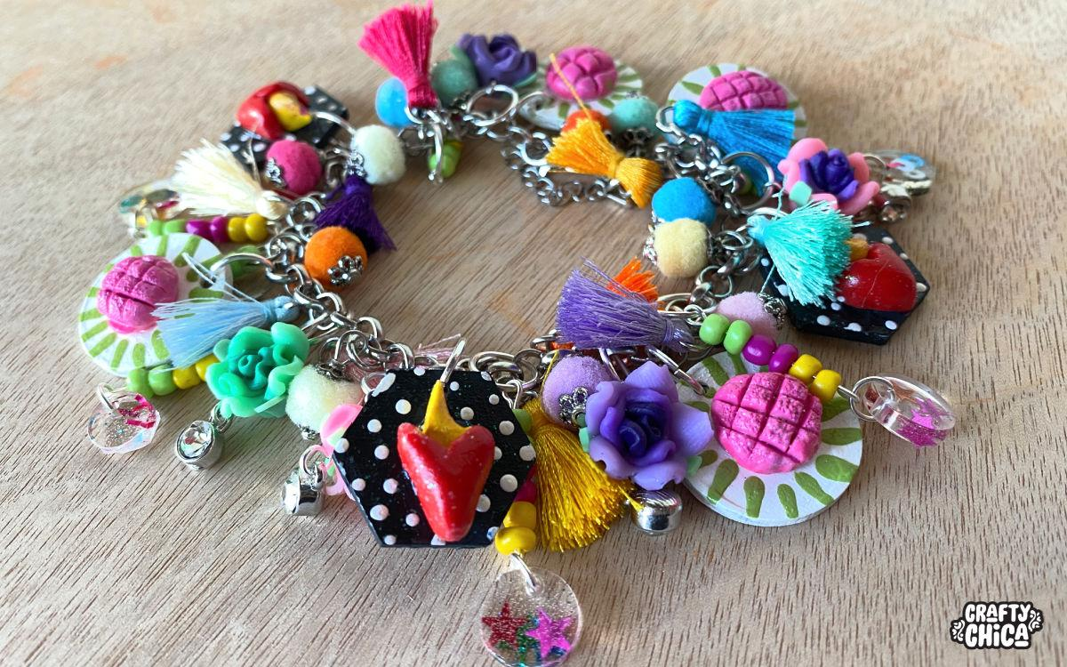 diy bead stash charm bracelet