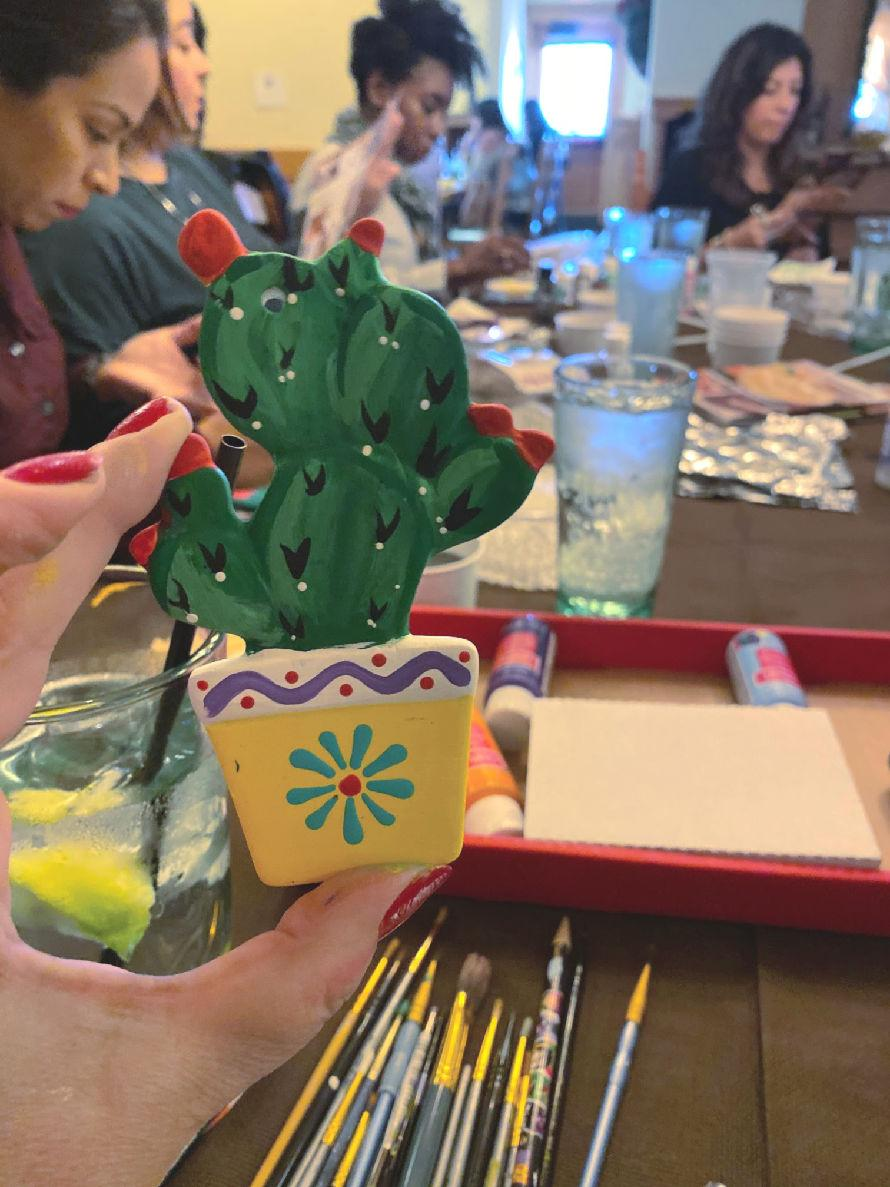 How to host a crafty get-together #craftychica #holidayparty