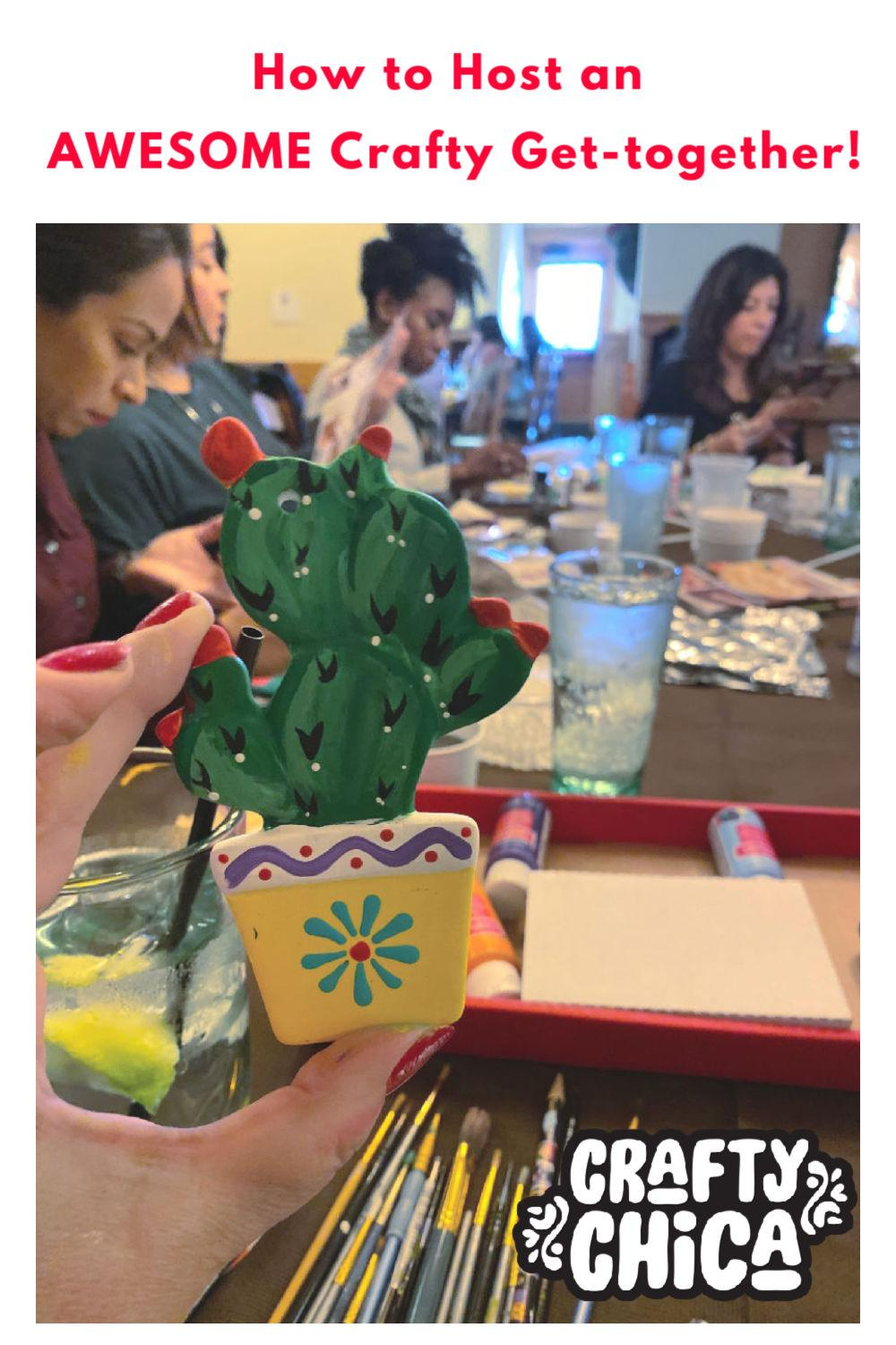 How to host a crafty get-together