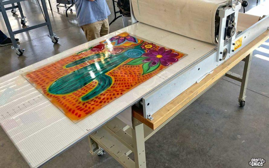 Monoprinting #craftychica #printmaking #monoprinting