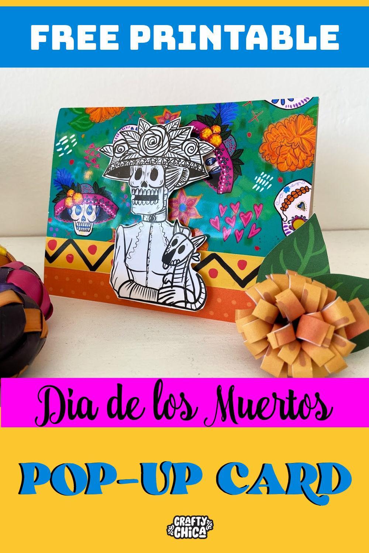 History of La Catrina - Free printable #craftychica #lacatrina