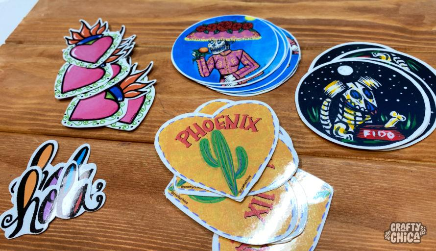 Stickers by Crafty Chica. #stickers