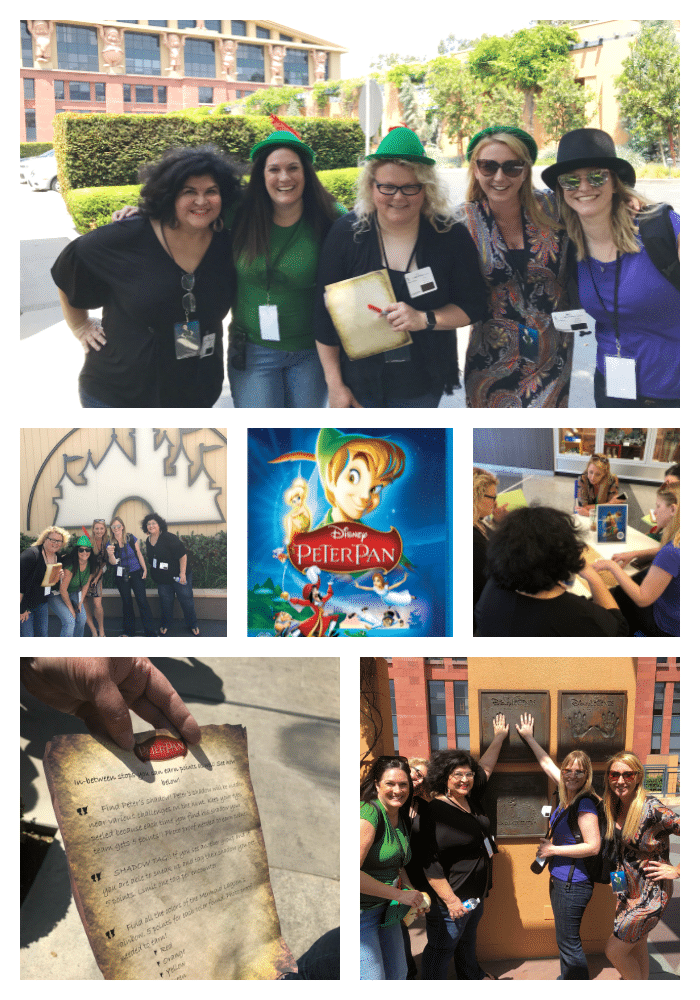Peter Pan scavenger hunt