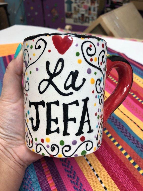 La Jefa Mug #craftychica #lajefa