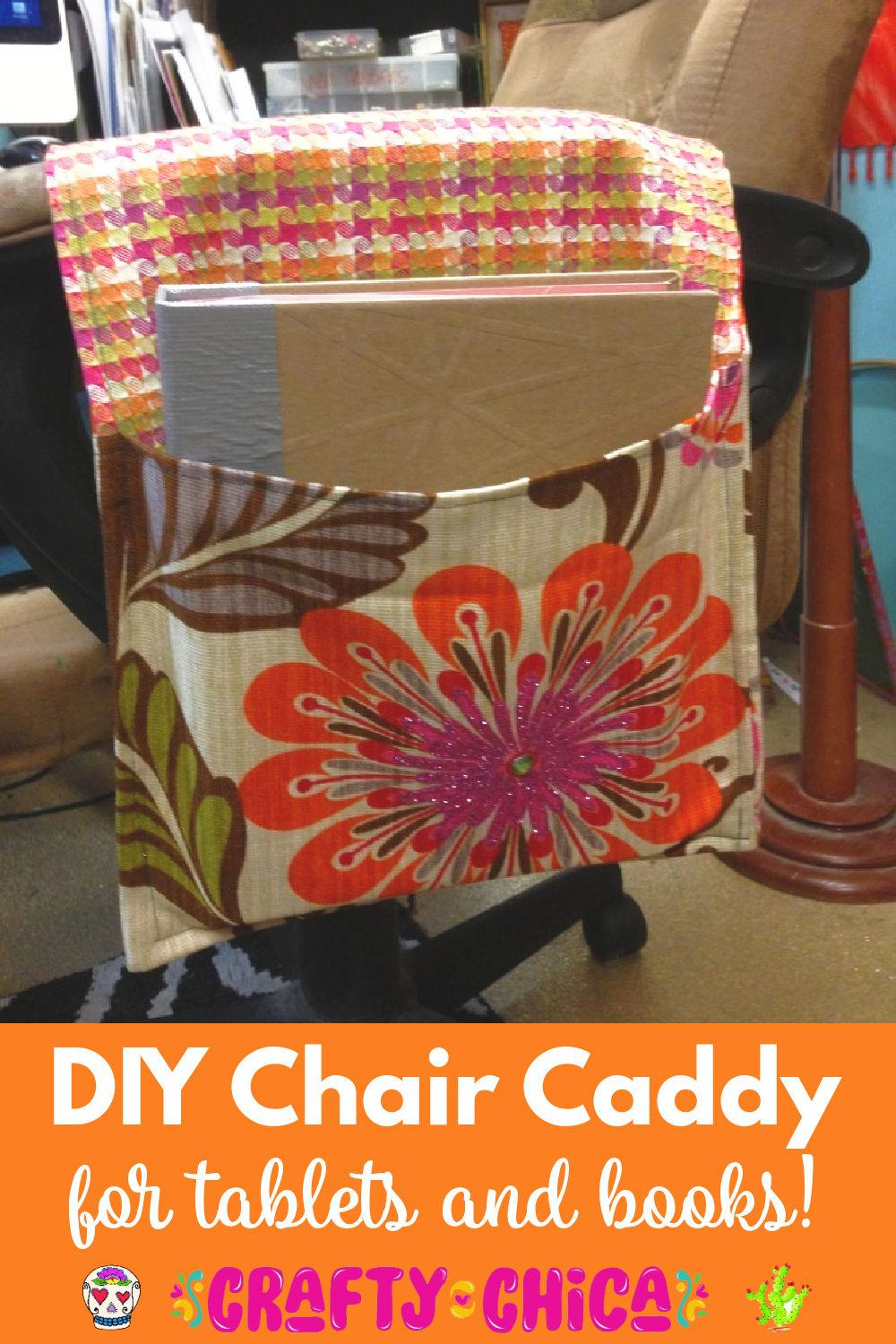 How to make a chair caddy
