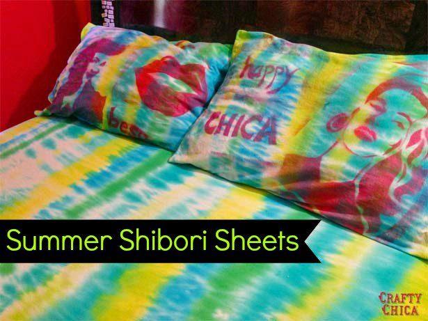 shibori-sheets