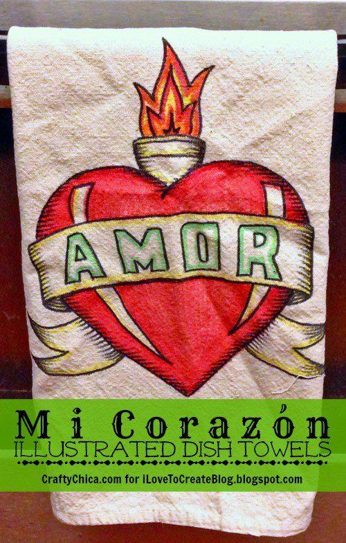 Corazon-towels