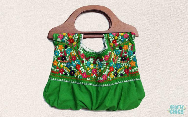 Mexican Embroidered Blouse #craftychica