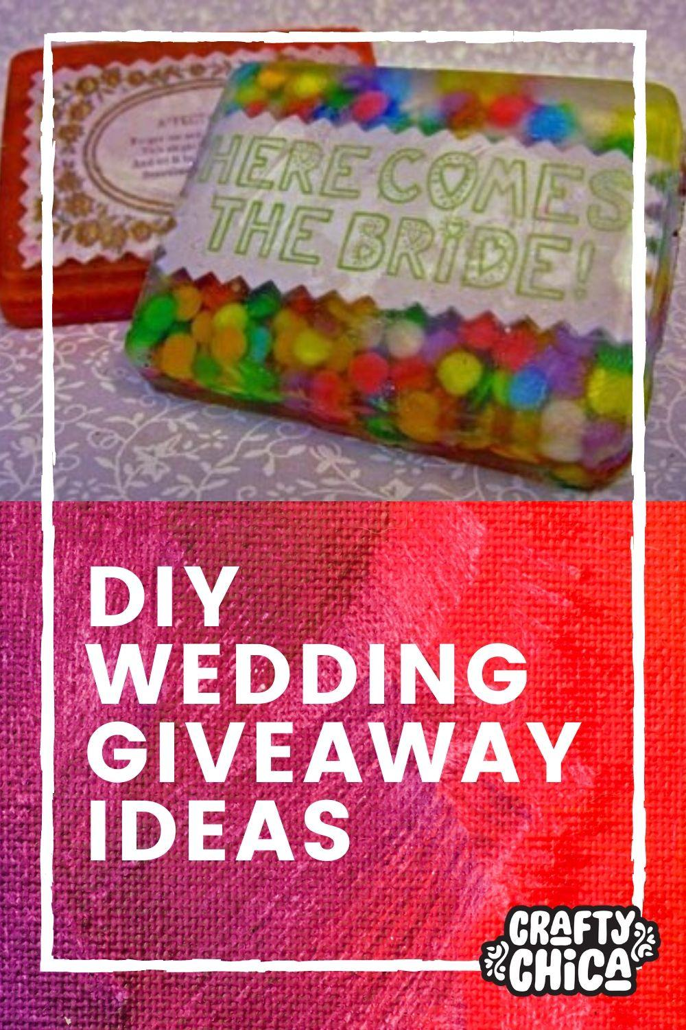 wedding giveaway ideas