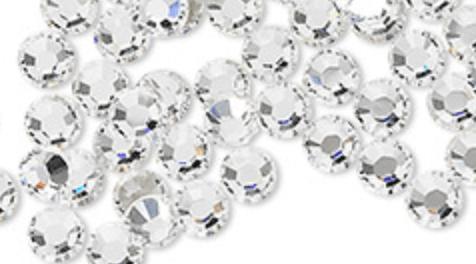 Gem brads for gold and silver bracelet on Craftychica.com