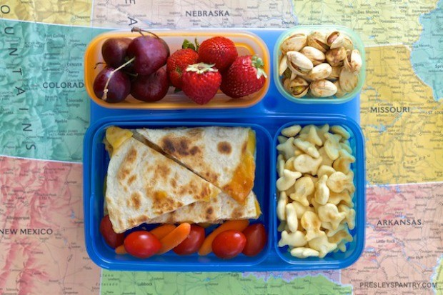 quesadilla-lunch-box