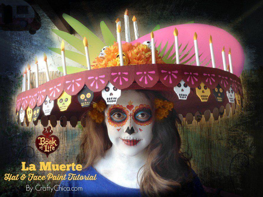 La Muerte costume DIY