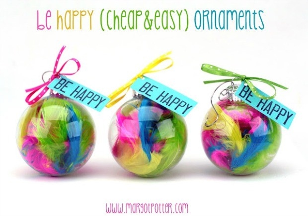 be happy ornaments one (1)
