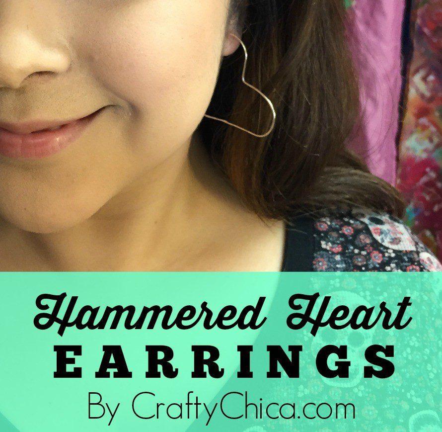 Hammered-Heart-Earrings