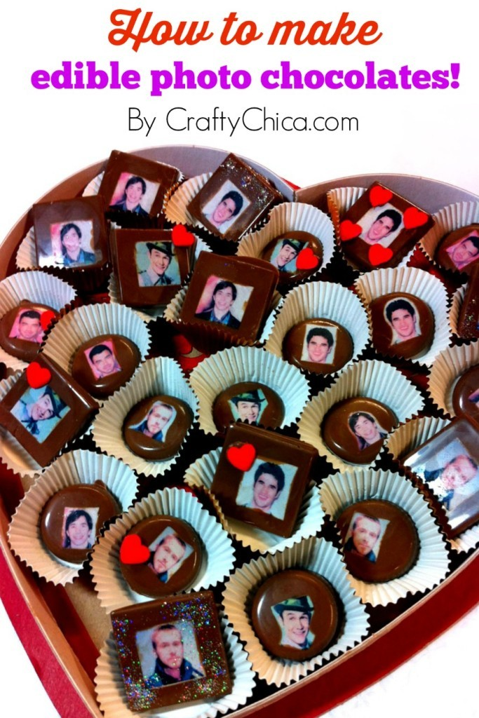 edible photo chocolates