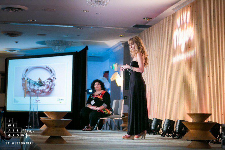 Lorraine C. Ladish. Photo by Robson Muzel and #WeAllGrow Summit 2015.