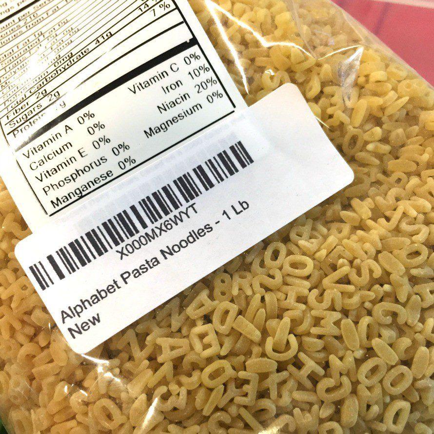 pasta letters for ceramics