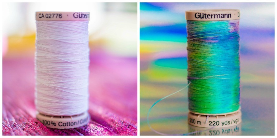tie-dye thread #craftychica #tiedyeideas