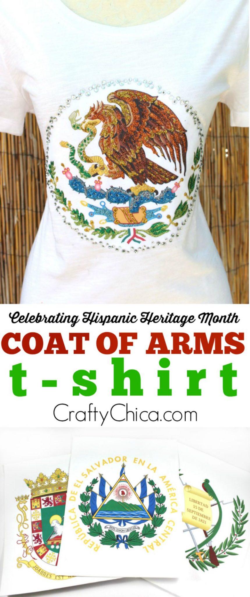 Coat of arms t-shirt idea