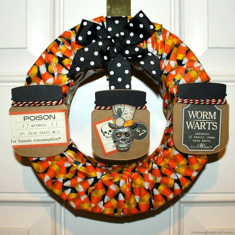 Mothership-Halloween-Wreath