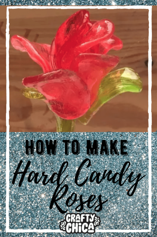How to make Hard Candy Roses -CraftyChica.com