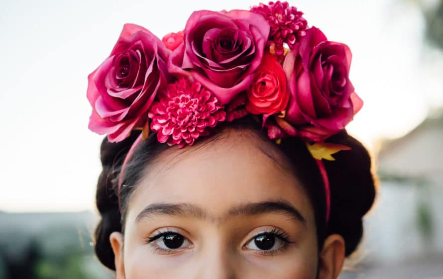 DIY Frida Kahlo costume and/or dress up, CraftyChica.com.