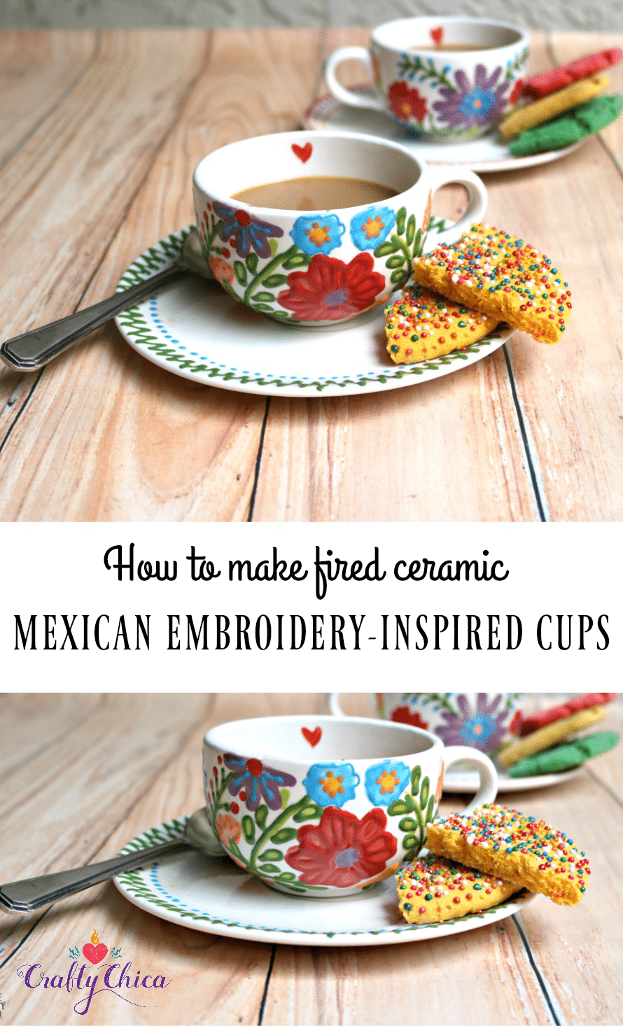 Mexi-Style Cups by Crafty Chica