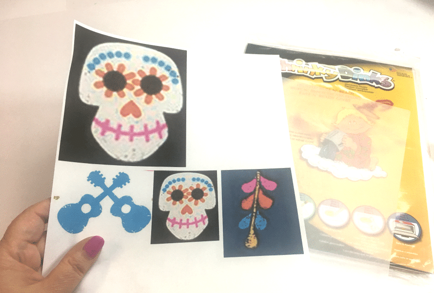Coco inspired sugar skull earrings by Crafty Chica