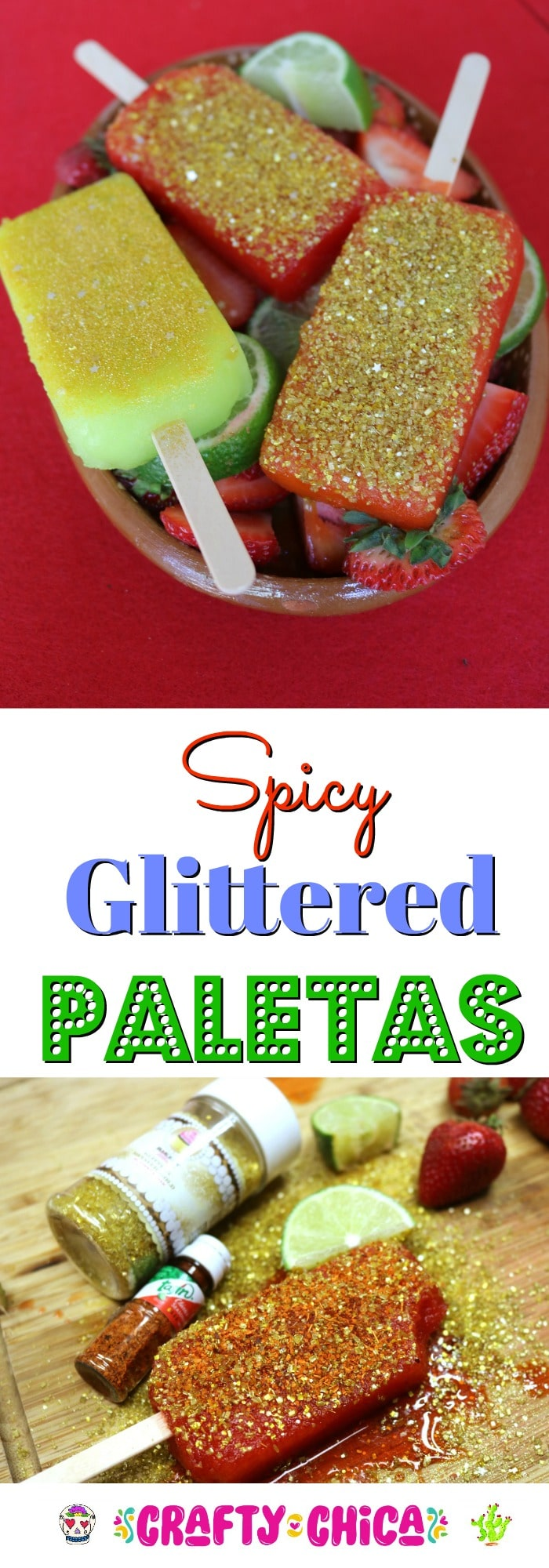 G;ittered paletas by Crafty Chica