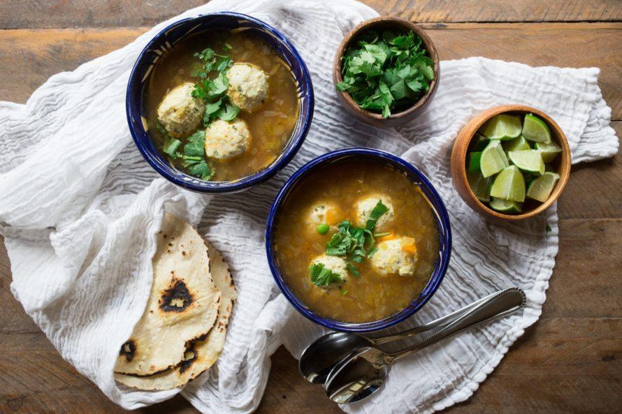 albondigas-mexican meatballs #craftychica #recipes