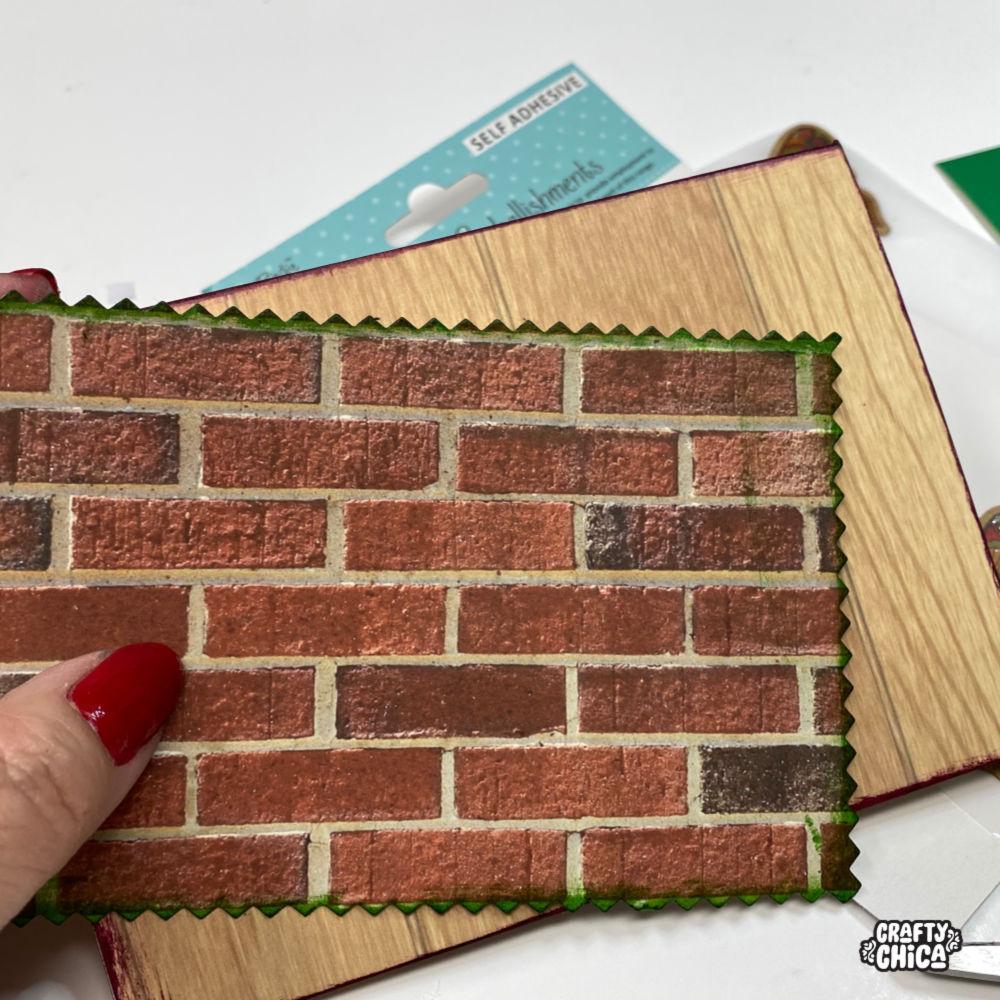 Scrapbook paper by Little Birdie #craftychica #papercrafts