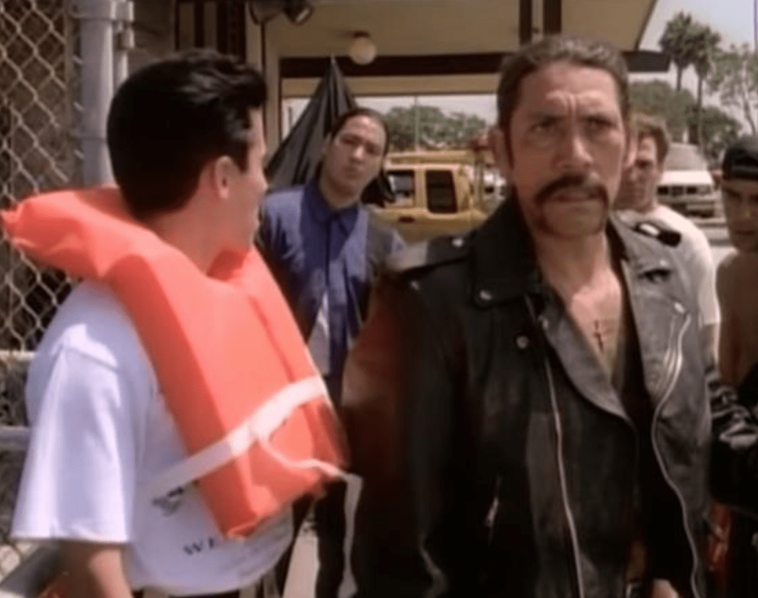 Danny Trejo on Baywatch 1989 photo credit IMDB.com on Craftychica.com
